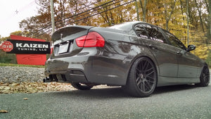BMW E90 3 Series M Tech Performance Style Carbon Fiber Rear Diffuser