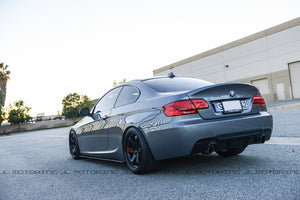BMW E92 3 Series M Tech Performance Style Carbon Fiber Rear Diffuser