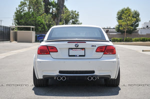 BMW E92 E93 M3 Type III Carbon Fiber Rear Diffuser