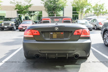 Load image into Gallery viewer, BMW E92 3 Series M Tech DTM Carbon Fiber Rear Diffuser - Dual