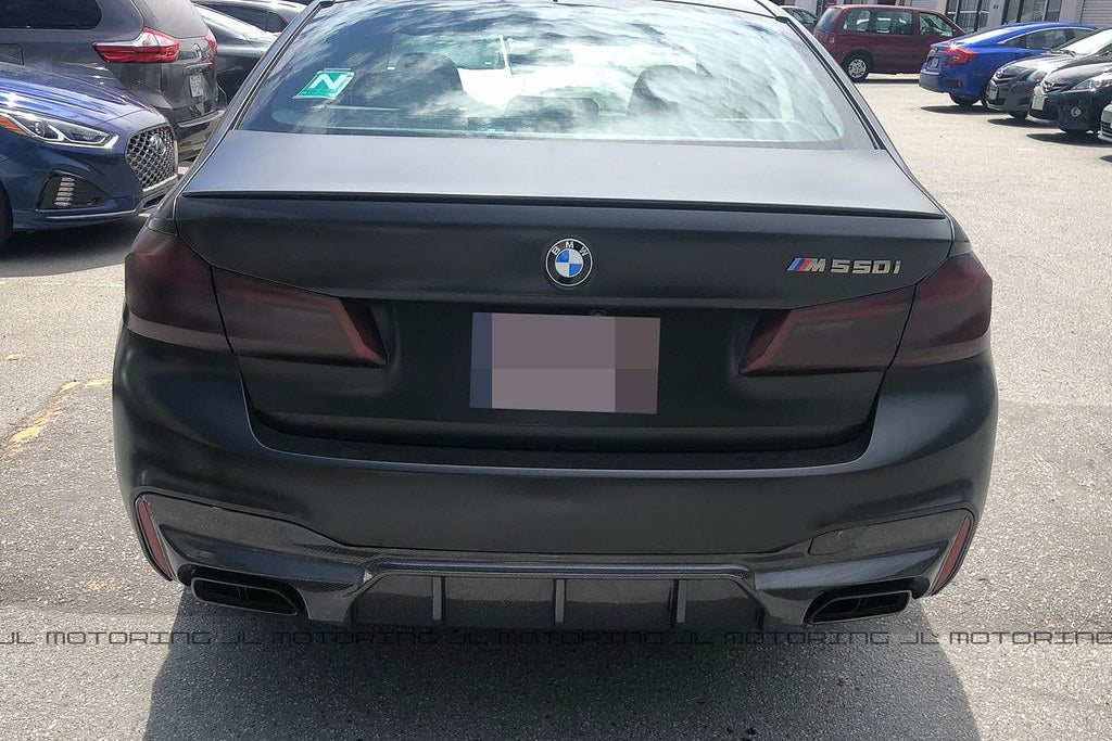 BMW F90 M5 Carbon Fiber Rear Diffuser