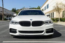 Load image into Gallery viewer, BMW G30 Carbon Fiber Front Grille Covers