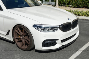 BMW G30 Carbon Fiber Front Grille Covers