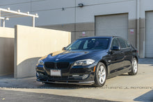 Load image into Gallery viewer, BMW F10 5 Series Carbon Fiber Front Spoiler