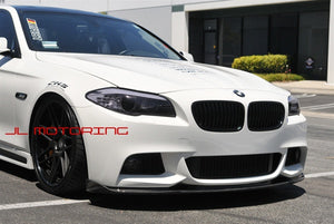 BMW F10 5 Series M Tech Carbon Fiber Front Spoiler