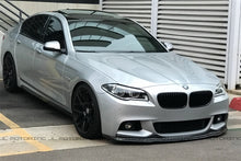 Load image into Gallery viewer, BMW F10 5 Series M Sport Carbon Fiber Front Spoiler