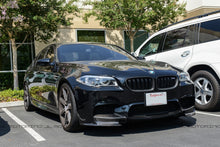 Load image into Gallery viewer, BMW F10 M5 Carbon Fiber Front Splitters