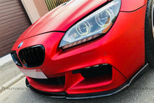 Load image into Gallery viewer, BMW F12 F13 F06 6 Series M Sport Carbon Fiber Front Spoiler