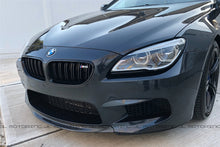 Load image into Gallery viewer, BMW F12 F13 F06 M6 Carbon Fiber Front Splitter