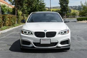 BMW F22 2 Series M Sport Carbon Fiber Front Lip