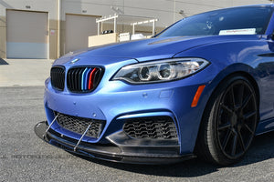 BMW F22 M Sport Performance Carbon Fiber Front Lip