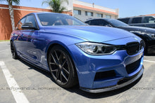 Load image into Gallery viewer, BMW F30 3 Series M Sport V2 Carbon Fiber Front Lip