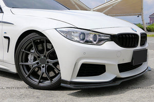 BMW F32 4 Series M Sport END CC Carbon Fiber Front Lip