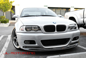 BMW E46 M3 One Piece Carbon Fiber Front Lip
