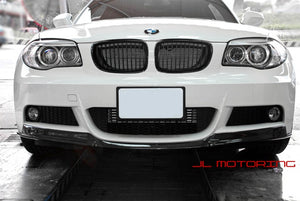BMW E82 E88 M Tech Carbon Fiber Front Lip