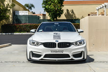 Load image into Gallery viewer, BMW F80 F82 F83 M3 M4 V1 Carbon Fiber Front Lip