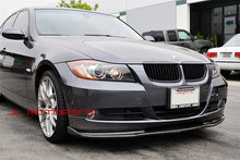Load image into Gallery viewer, BMW E90 E91 3 Series H Style Carbon Fiber Front Spoiler