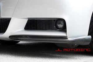 BMW E90 E91 3 Series M Tech Carbon Fiber Front Splitters
