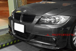 BMW E90 E91 3 Series M Tech 3D Style Carbon Fiber Front Lip