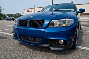 BMW E90 LCI 3 Series M Tech Carbon Fiber Front Splitters