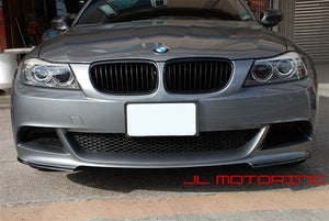 BMW E90 3 Series Performance Bumper Carbon Fiber Front Splitters