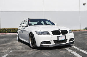 BMW E90 E91 3 Series LCI M Tech Carbon Fiber Front Lip