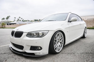 BMW E92 E93 3 Series M Tech Carbon Fiber Front Spoiler