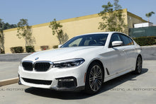 Load image into Gallery viewer, BMW G30 M Sport Performance Carbon Fiber Front Splitters