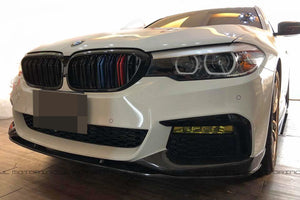 BMW G30 M Sport Performance Carbon Fiber Front Splitters