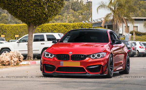 BMW F80 F82 F83 M3 M4 Carbon Fiber Bumper Trims