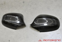 Load image into Gallery viewer, BMW E90 E91 LCI 3 Series Carbon Fiber Mirror Covers