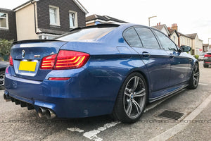 BMW F10 5 Series W Style Carbon Fiber Roof Spoiler