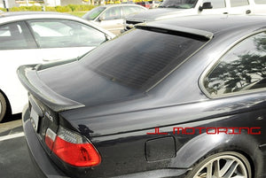 BMW E46 3 Series Coupe ACS Carbon Fiber Roof Spoiler