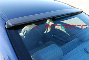 BMW E46 3 Series Sedan ACS Carbon Fiber Roof Spoiler