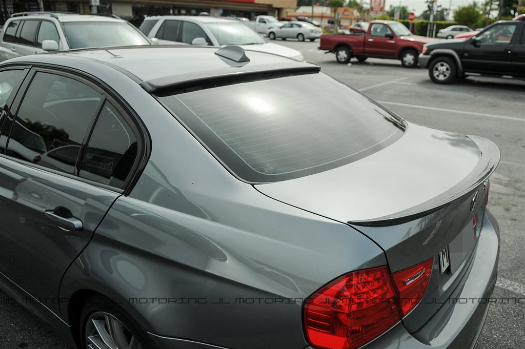 BMW E90 3 Series ACS Carbon Fiber Roof Spoiler