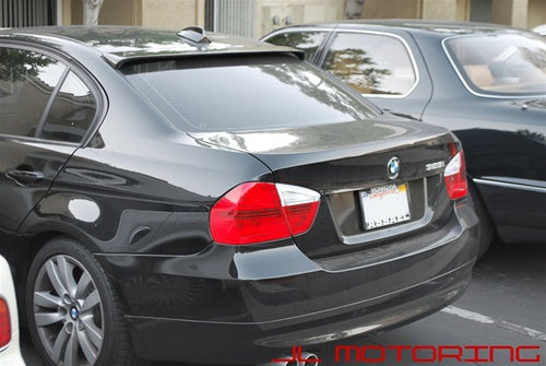 BMW E90 3 Series Carbon Fiber Roof Spoiler