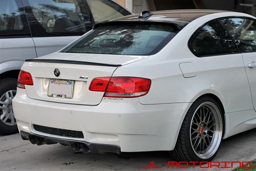 BMW E92 3 Series Coupe Carbon Fiber Roof Spoiler