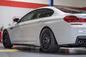 BMW F06 GranCoupe 640 650 M6 Carbon Fiber Side Skirts