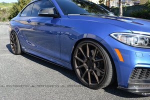BMW F22 F23 Performance Carbon Fiber Side Skirts
