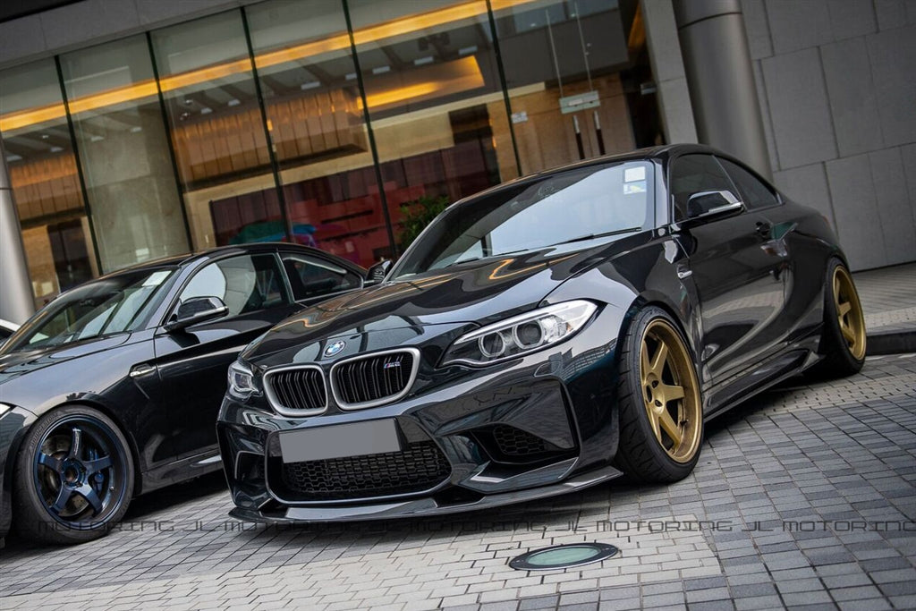 BMW F87 M2 Carbon Fiber Side Skirts