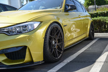 Load image into Gallery viewer, BMW F80 M3 Carbon Fiber Side Skirts