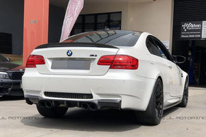 BMW E92 E93 M3 Carbon Fiber Rear Bumper Skirts