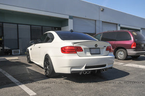 BMW E92 Coupe CSL Style Carbon Fiber Bootlid Trunk