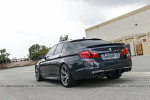 Load image into Gallery viewer, BMW F10 5 Series 3D Style Carbon Fiber Trunk Spoiler