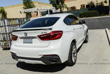 Load image into Gallery viewer, BMW F16 X6 F86 X6M Performance Style Carbon Fiber Trunk Spoiler