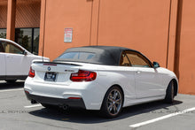 Load image into Gallery viewer, BMW F22 2 Series 228 M235 M2 Performance Carbon Fiber Trunk Spoiler