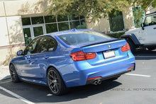 Load image into Gallery viewer, BMW F80 M3 F30 3 Series Performance Style Carbon Fiber Trunk Spoiler