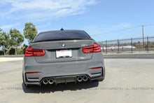 Load image into Gallery viewer, BMW F30 3 Series Performance Style Carbon Fiber Trunk Spoiler