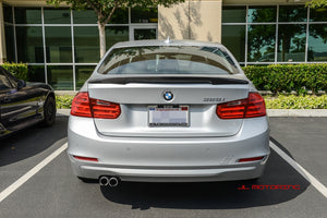 BMW F80 M3 F30 3 Series V2 Carbon Fiber Trunk Spoiler