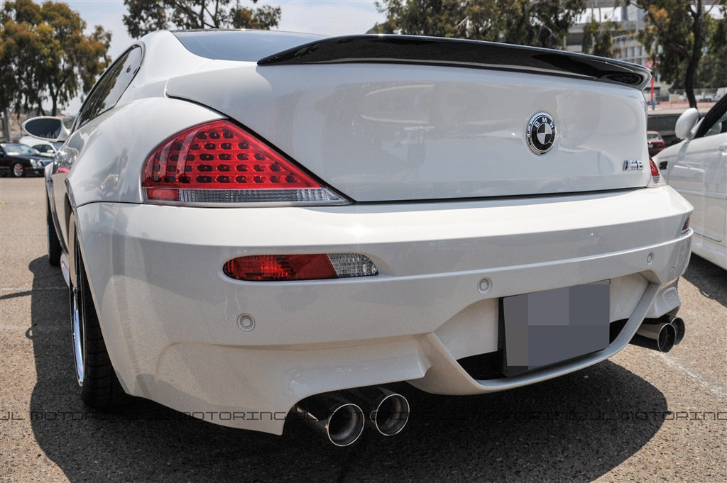 BMW E63 6 Series M6 Carbon Fiber Trunk Spoiler